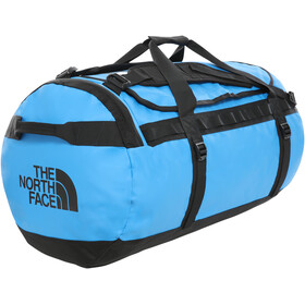 The North Face Base Camp Duffelilaukku L, clear lake blue/tnf black